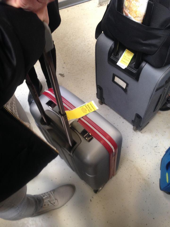bagaglio a mano frankfurt-lisbon