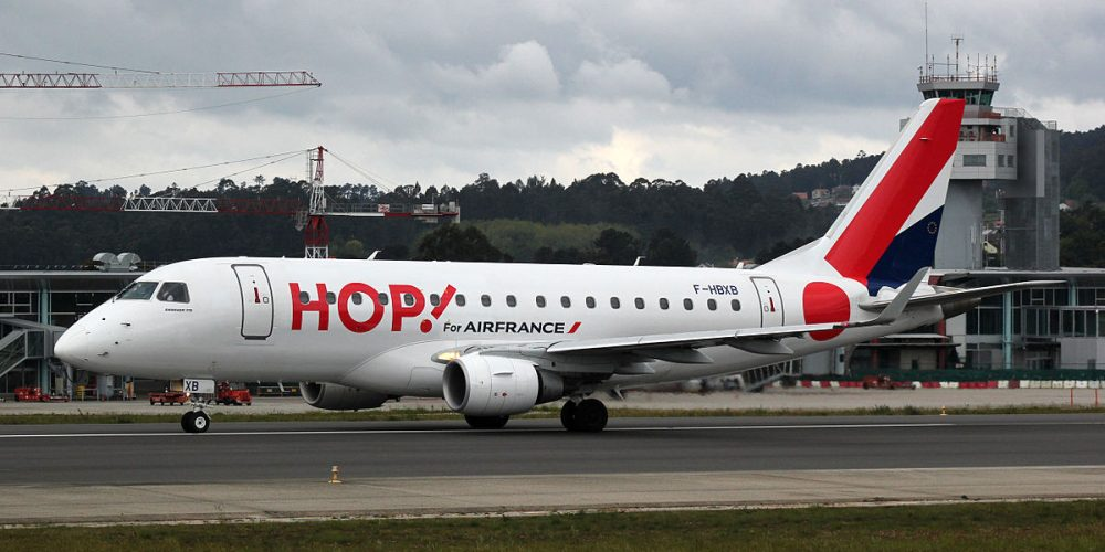 AIR FRANCE HOP! CANCELLA IL VOLO  HOP 1219 FRANCOFORTE PARIGI DEL 5.02.19