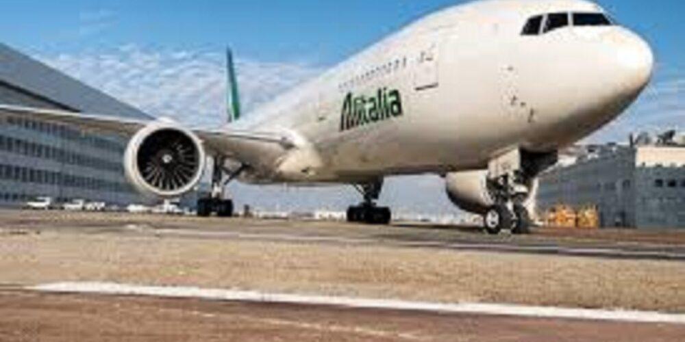 Alitalia Volo Milano Linate Roma Fiucimino 9 giugno 2018