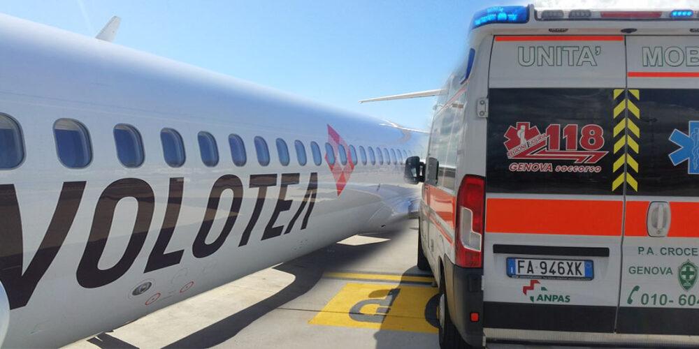 Ritardo Volo Genova Catania con Atterraggio di Emergenza